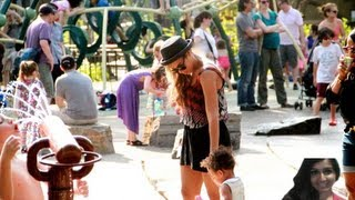 Beyonce And Blue Ivy Have Fun At The Playground PHOTOS - Commentary