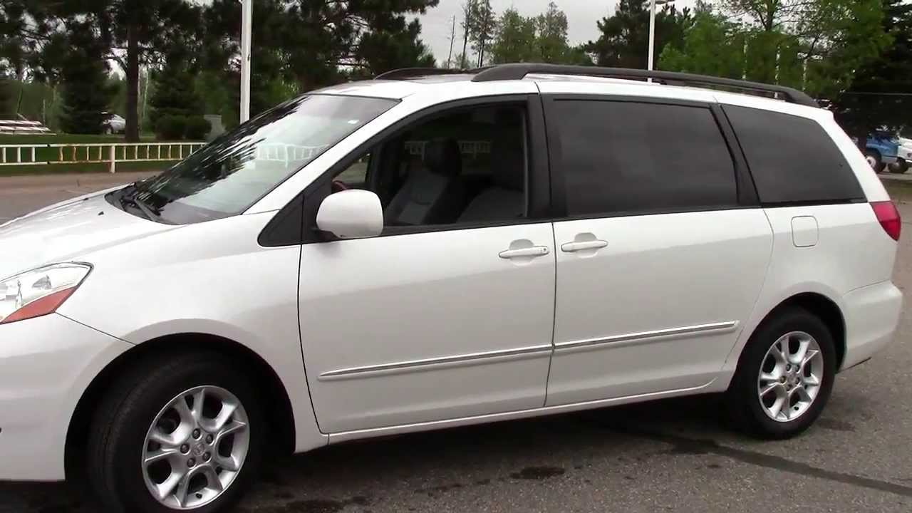 2006 Toyota Sienna XLE Limited AWD  YouTube