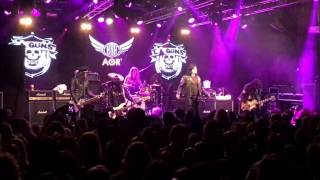 L A Guns Sex Action LIVE HRH AOR 2017