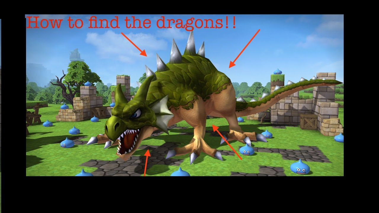 How to find the three dragons in cantlin dragon quest for How to find a builder