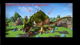 How To Find The Three Dragons In Cantlin - Dragon Quest Builders