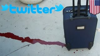 Body parts in suitcase: severed human remains found in bag outside Twitter's headquarters
