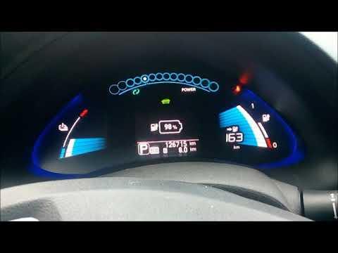 видео: Nissan Leaf 30+кВт  из остаточных 12кВт(двойная батарея)