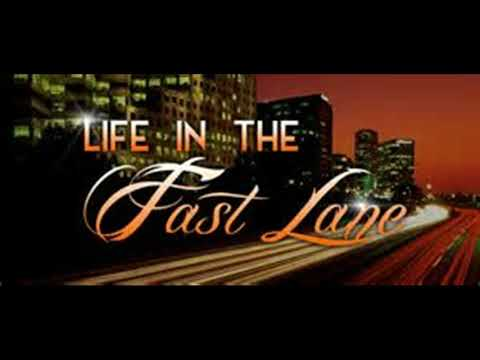 LIVING LIFE IN THE FAST LANE BY JENNY TRINDALL