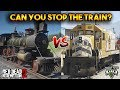 GTA 5 VS RDR2 : CAN YOU STOP THE TRAIN?