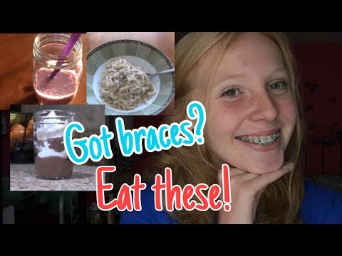 BRACES FRIENDLY FOODS!   3 Easy and Delicious Soft Foods!