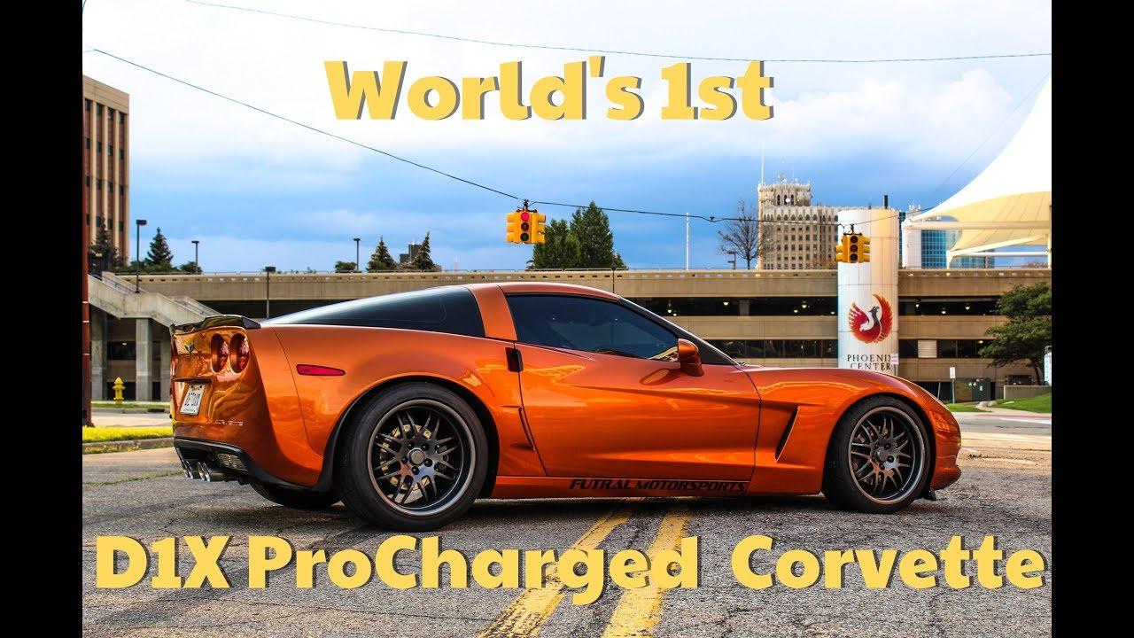 World's 1st D1X ProCharged Corvette Making Big Power On A