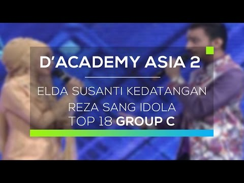 Elda Susanti Kedatangan Reza Sang Idola (D'Academy Asia 2)