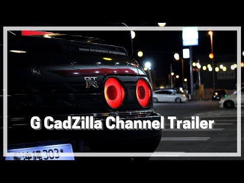 G CadZilla's Official Channel Trailer