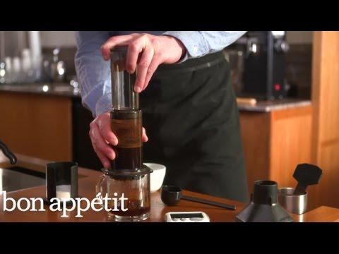 Bon Appétit/Stumptown Coffee Brew Guides: Aeropress