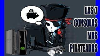 Las 7 consolas mas pirateadas...[VIDEO CONSOLAS MAS AFECTADAS POR PIRATERIA]..[consolas piratas]