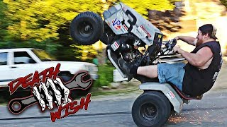 Street Bike Powered Lawn Mower - Deathwish EP1