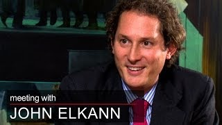 President of fiat, john elkann, talks about his new york and on entering pioneering role in one italy's most iconic brands.