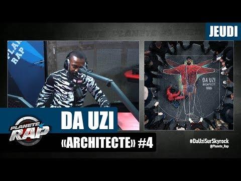 Youtube: Planète Rap – Da Uzi«Architecte» #Jeudi