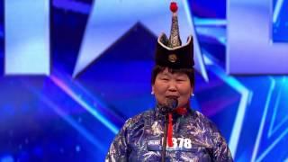 Б.Наранцэцэг -  Сайхан зантай саальчин эмэгтэй | 1-р шат | Дугаар 4| Авьяаслаг Монголчууд 2016