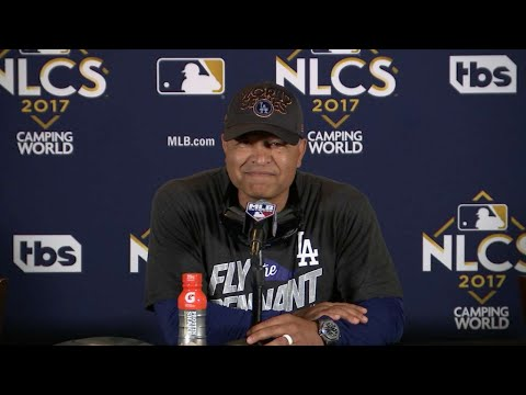 NLCS Gm5 Roberts on advancing to the World Series