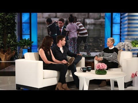 Ellen Meets Groom Clayton Cook, Who Saved a Boy from Drowning
