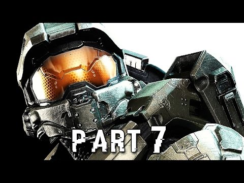 Halo 5 Guardians Walkthrough Gameplay Part 7 - Evacuation - Campaign Mission 6 (Xbox One)