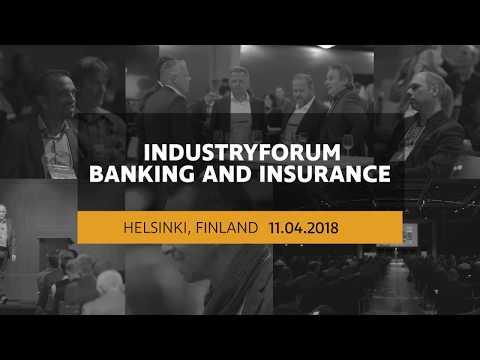 IndustryForum Banking And Insurance 2018 in Helsinki, Finland
