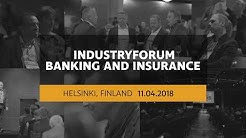 IndustryForum Banking And Insurance 2018 in Helsinki, Finland