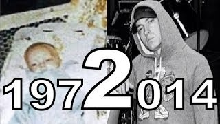 Eminem Through The Years (1972 - 2014)
