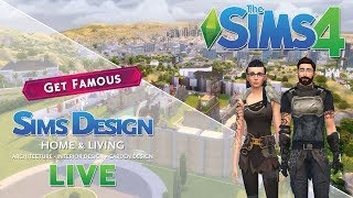 The Sims 4 - Sims Design house building in LIVE #38