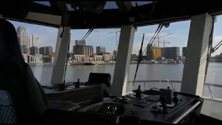 KOTUG demonstrates remote controlled tugboat sailing over a long distance