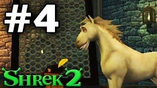 Прохождение Шрек 2 The Game - Часть 4 - Белогривый осел.