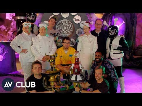 Joel Hodgson and Jonah Ray on Mystery Science Theater 3000 and their favorite fan tattoos
