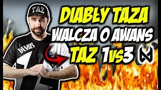 DIABŁY WALCZĄ O AWANS DO 2-go ETAPU PRO LIGI!!! TAZ 1vs3, DYCHA VAC SHOTS - CSGO BEST MOMENTS