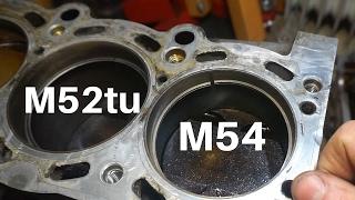 Wysokie podciśnienie a spalanie oleju w BMW e46 M54 i różnica pierścieni M52 tu i M54
