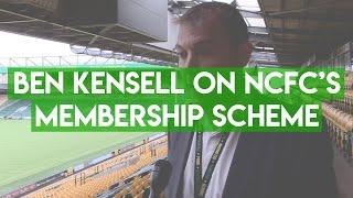 Ben Kensell on NCFC's Membership Scheme | Total Football