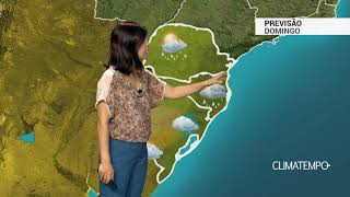 Previsão Sul – Capitais com chuva a qualquer hora