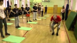 Урок физической подготовки юноши (9 10  класс)