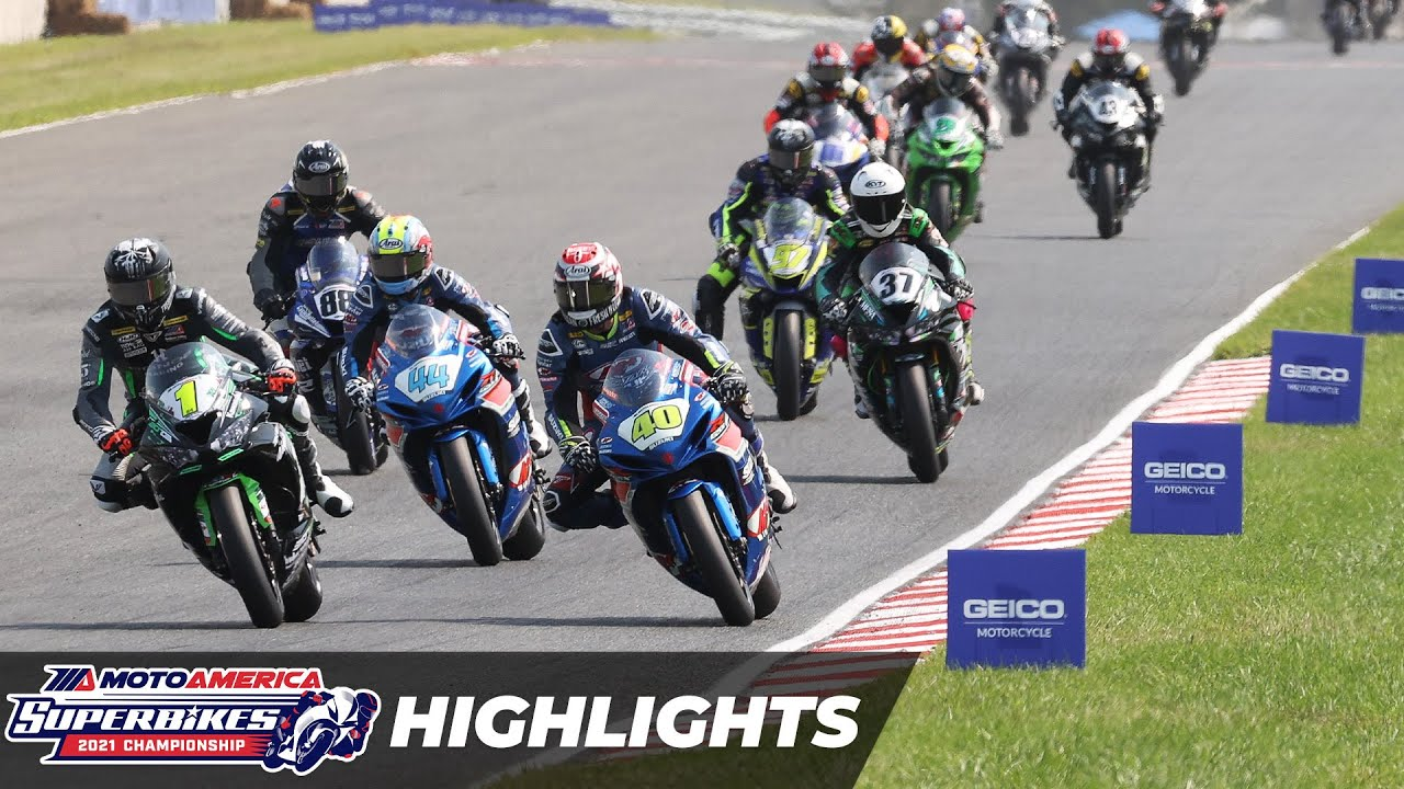 Download MotoAmerica Supersport Race 2 Highlights at New Jersey 2021
