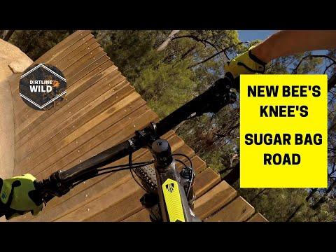 NEW BEE'S KNEES MOUNTAIN BIKE TRACK SUGAR BAG ROAD MTB