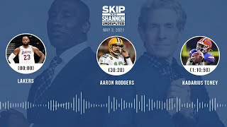 Lakers, Aaron Rodgers, Kadarius Toney (5.3.21) | UNDISPUTED Audio Podcast
