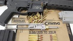 Shoot 22LR from your AR15 with CMMG conversion kit