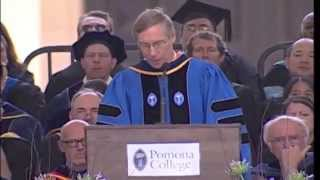 David Oxtoby - Pomona College Commencement - May 18, 2014