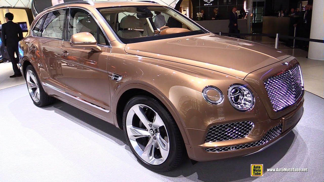 2016 Bentley Bentayga - Exterior and Interior Walkaround - Debut at ...
