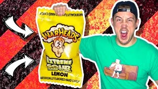 kids eating warheads
