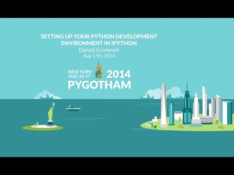 Image from Setting up your Python development environment in IPython