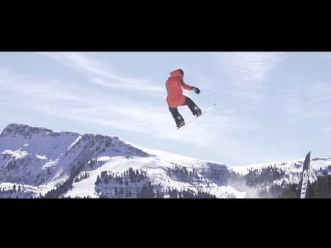 Obereggen snowpark recap 2015