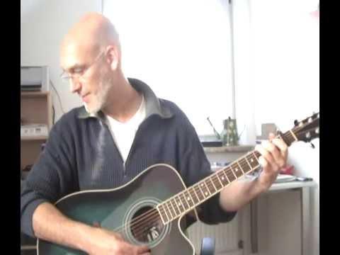 Gitarre lernen einfach Lied Country Roads