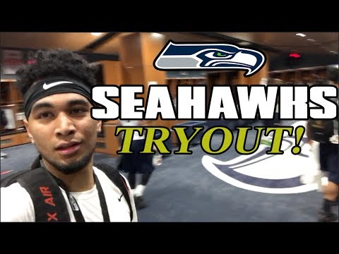 Trying Out For The Seahawks!