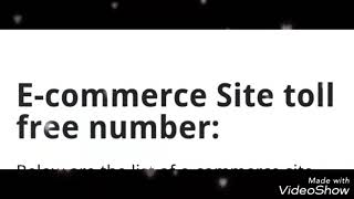 Helpline Number | of 10most Trusted |E-commerce Company |