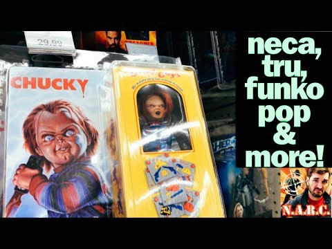 Toy Hunting VLOG: NECA Chucky, NES Game Pickups And SNES Classic!