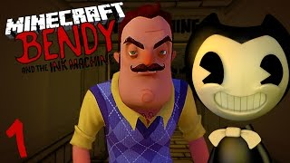 10 NIGHTS AT BENDY'S - BENDY CAPTURES THE NEIGHBOUR! (Night #1)