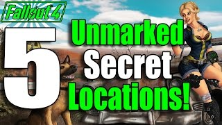 Fallout 4 5 Secret Locations with Secret Loot Ep. 1 Fallout 4 Secrets