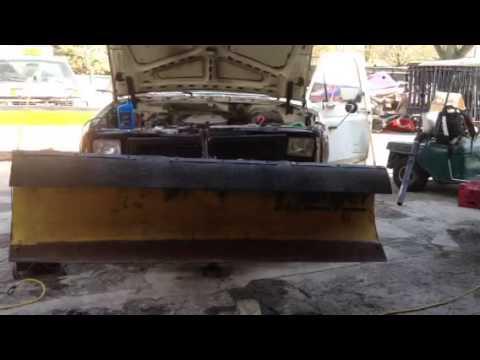 Meyer plow pump